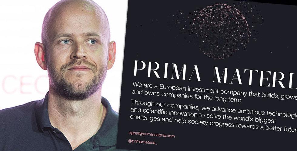 Här är Daniel Eks nya storsatsning: Prima Materia