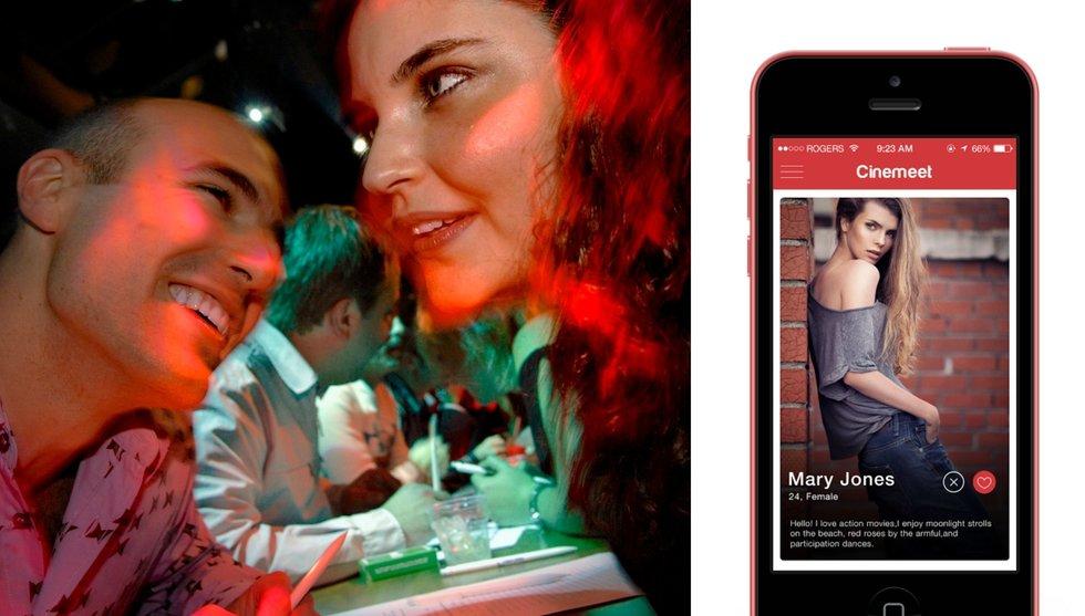 Svenska appen Cinemeet hjälper dig hitta en dejt att gå på bio med