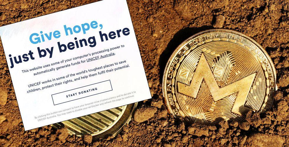 Unicef vill samla in pengar – genom att utvinna kryptovalutor