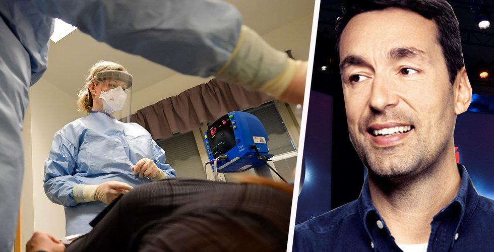 Patrick Söderlund går ihop med profiler – ska hjälpa vården