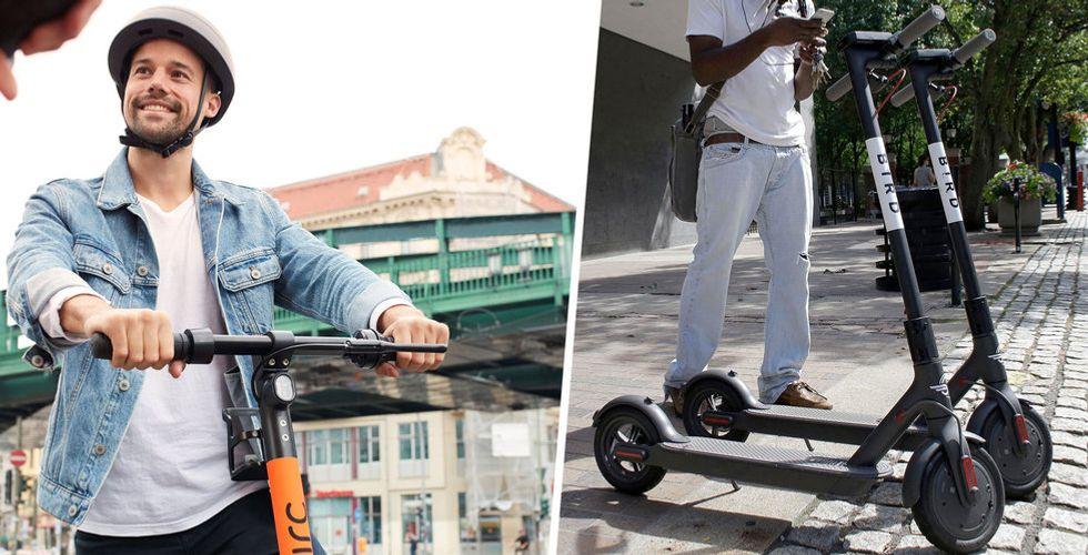 Elscooter-jätten Bird köper europeiska utmanaren Circ