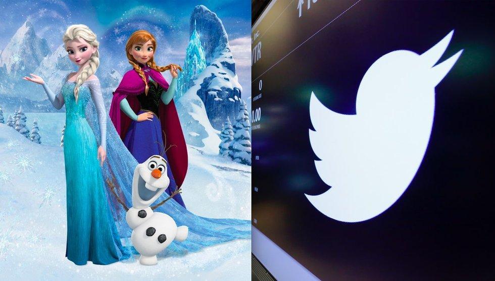 Disneys oro – att Twittertrollen skulle paja bolagets varumärke