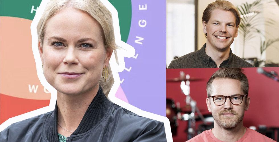 """Techstjärnorna hakar på Breakit och Skandias hälsoutmaning Happy workplace challenge: """"Många bra bolag"""""""