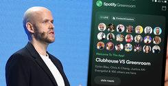 Daniel Ek är superglad! Nu är Spotifys Clubhouse-dödare här