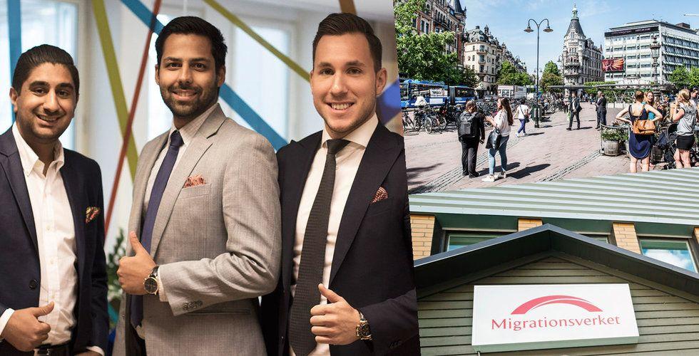 Servicefinder-trion startar fastighetsbolag – köper upp lägenheter och asylboende