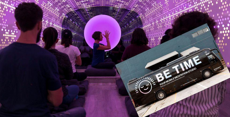 Glöm Food trucks – nu tar meditationsvagnarna över gatorna