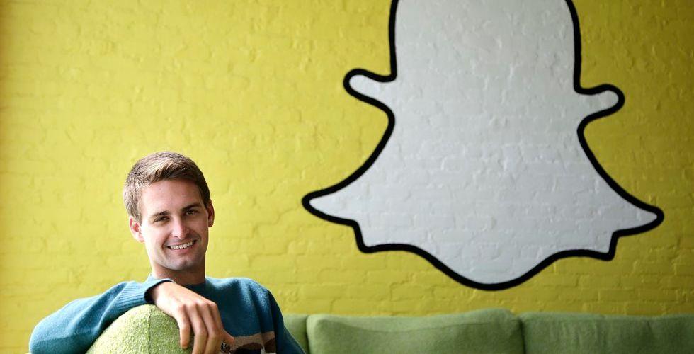 Ny varningssignal från Silicon Valley - Snapchat faller i värde