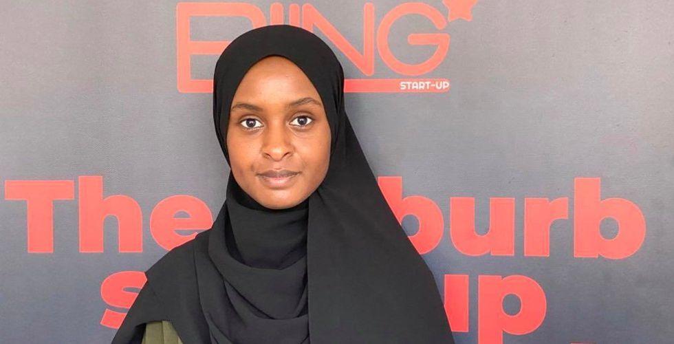 """Deqa Abukar brinner för ortens startups: """"Investerarna missar heta bolag"""""""