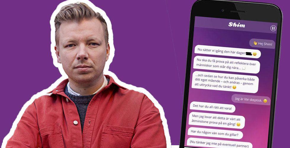 Jag öppnade upp mig för en psykolog-app – du anar aldrig vad som hände sen