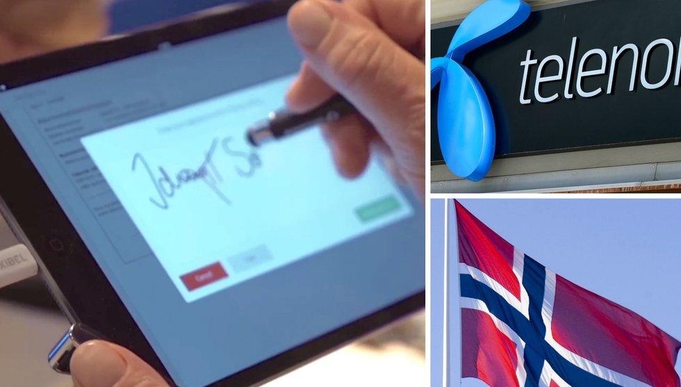 Breakit - Nu ska alla norrmän skriva under med Scrives teknik hos Telenor
