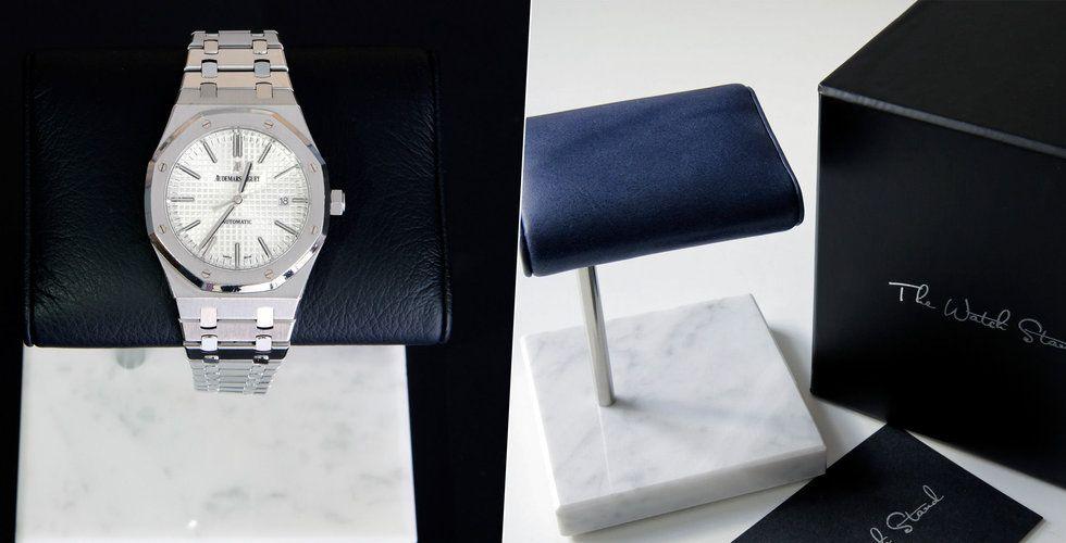 The Watch Stand vill hålla klockorna säkra – dubblar omsättningen