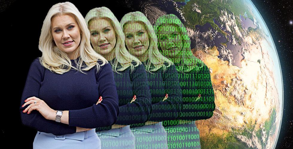 Isabella Löwengrip ska bli världens mäktigaste kvinna – klonar sig och bygger bot-armé