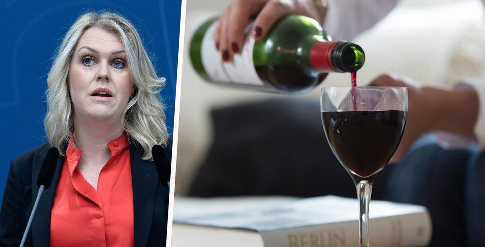 Regeringen vill stoppa vinbutiker på nätet