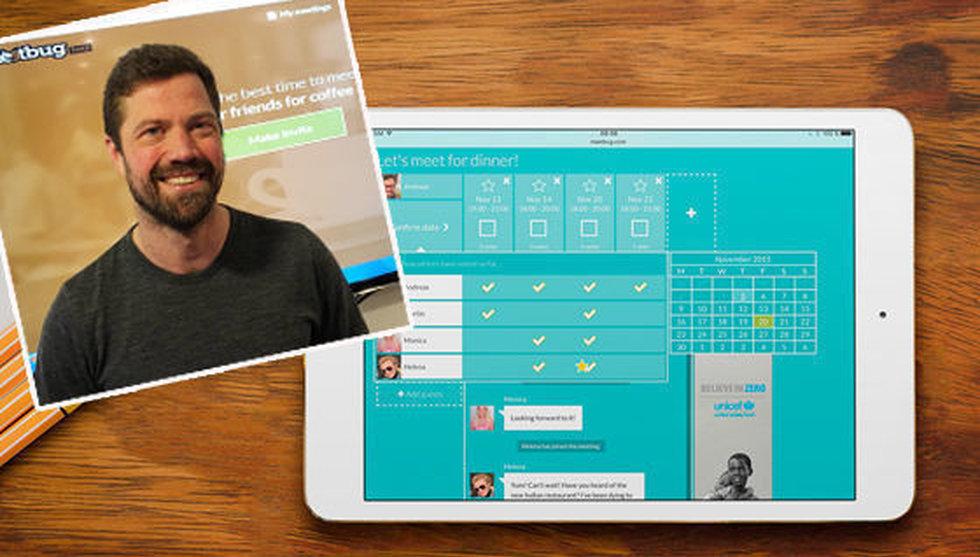 Han är doldisen bakom Skype – vill nu förändra mötesbokningen