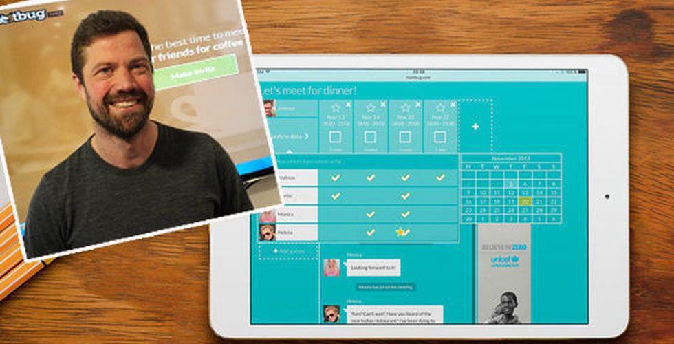 Breakit - Han är doldisen bakom Skype – vill nu förändra mötesbokningen