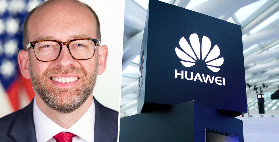 USA:s budgetchef vill ha förlängd tidsfrist kring Huawei-förbudet