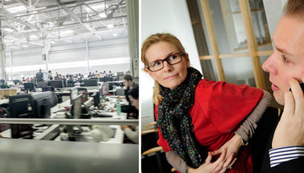 Breakit - Kollegornas babblande i öppna kontorslandskap – så dåligt är det