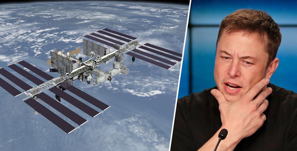 Trump kan vara på väg att sälja rymdstationen – är Elon Musk sugen tror ni?