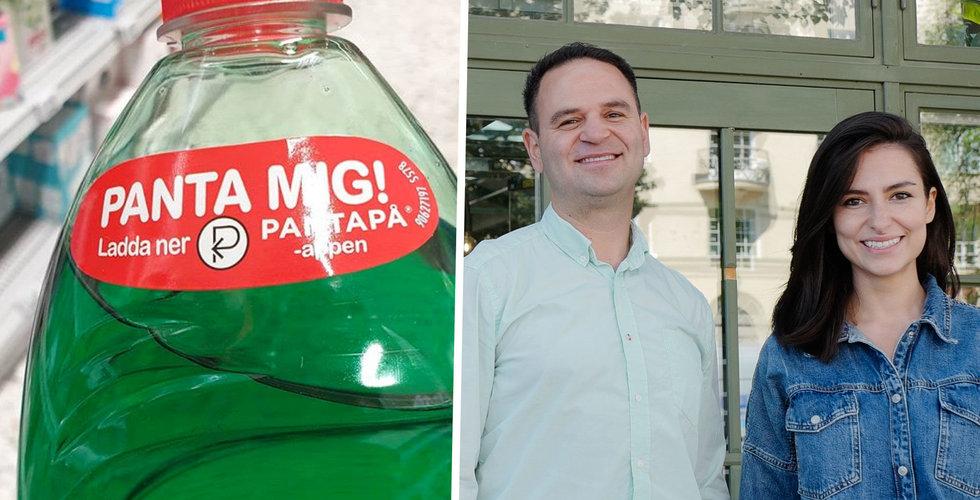 Återvinningsappen Pantapå tar in miljoner, Almi Invest en av investerarna