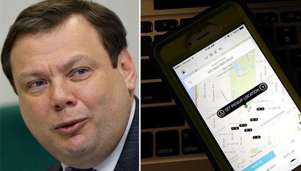 Breakit - Miljardären Mikhail Fridman investerar 1,6 miljarder i Uber
