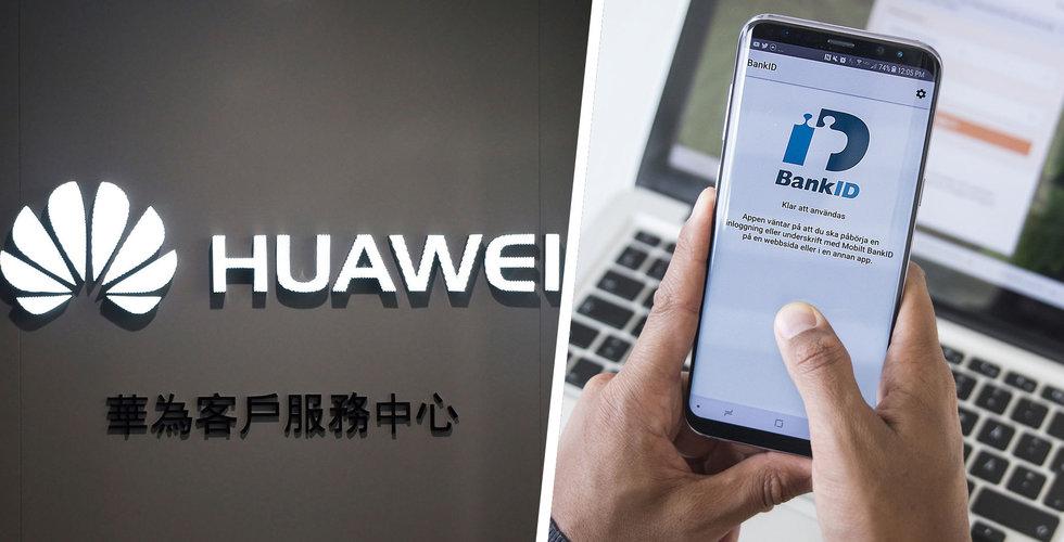 Huaweis nya model Mate 30 kommer att sakna Mobilt Bank ID i Sverige