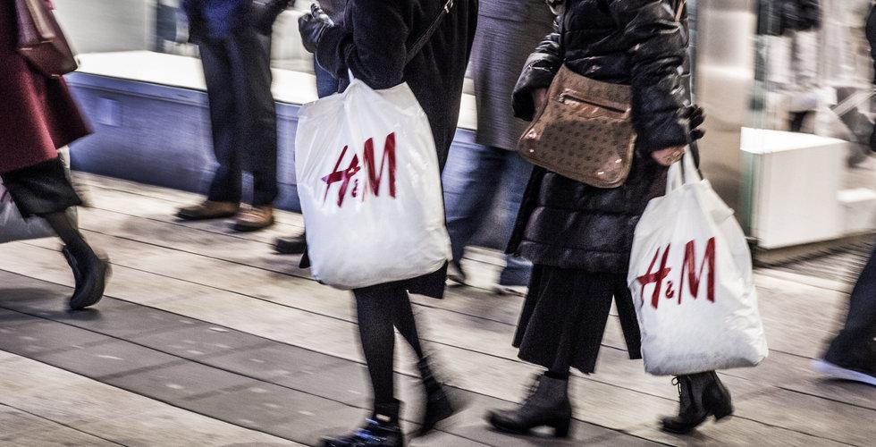 Franska storbanken: H&M:s vinstminskning fortsätter under nästa år