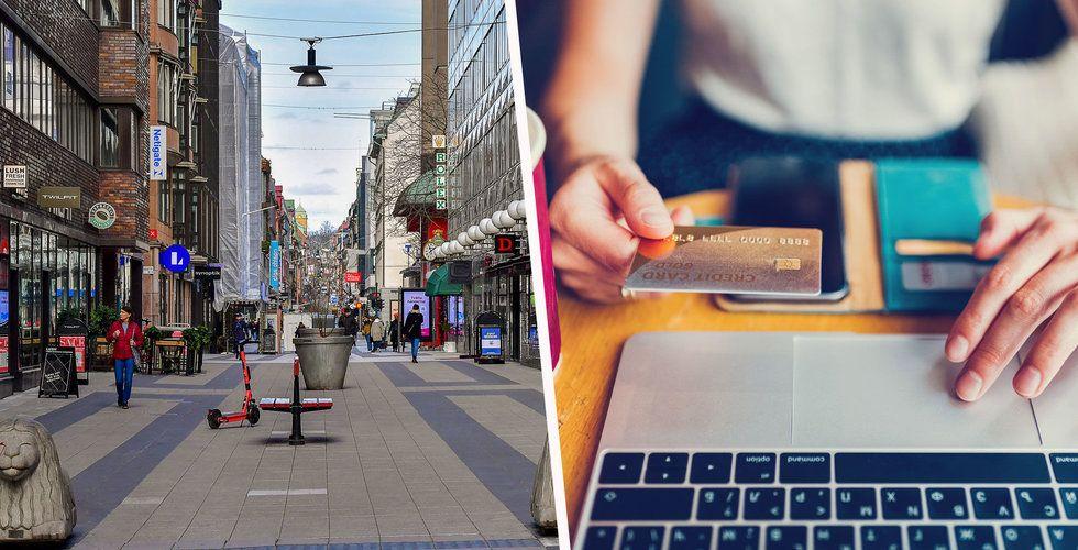 Kunderna flyr fysiska butiker  – då vill fler handlare flytta ut på nätet