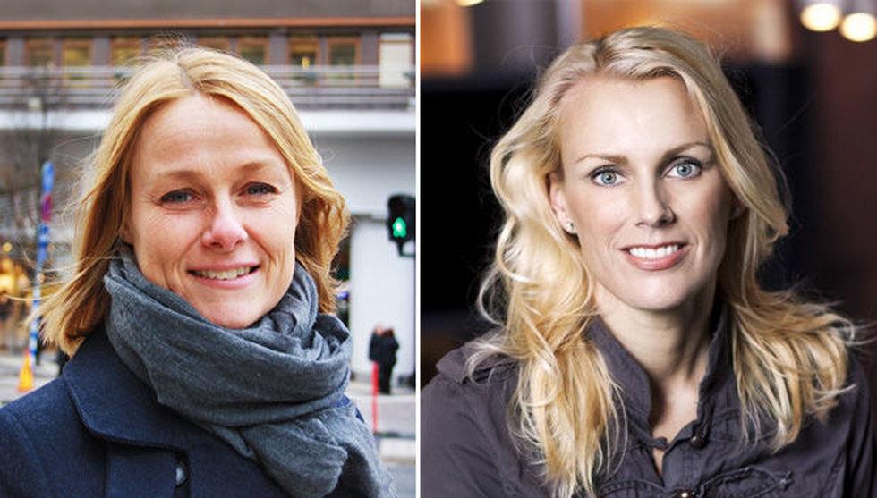 Stina Honkamaa Bergfors och Anna Settman väljer att lämna Eniros styrelse