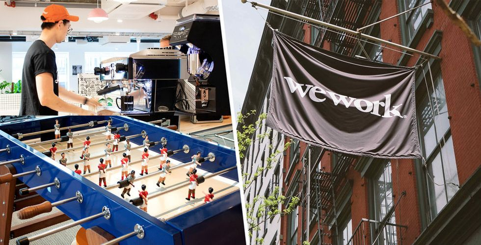 WeWork har öppnat i Stockholm – så ser lokalerna ut (mer spännande än det låter)