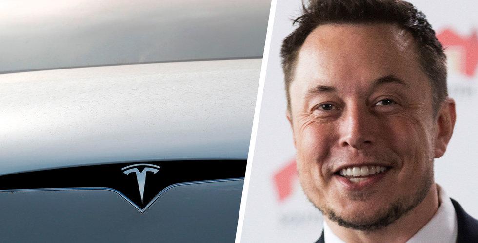 Teslas rekordkvartal under hot från flaskhalsar kring leveranser