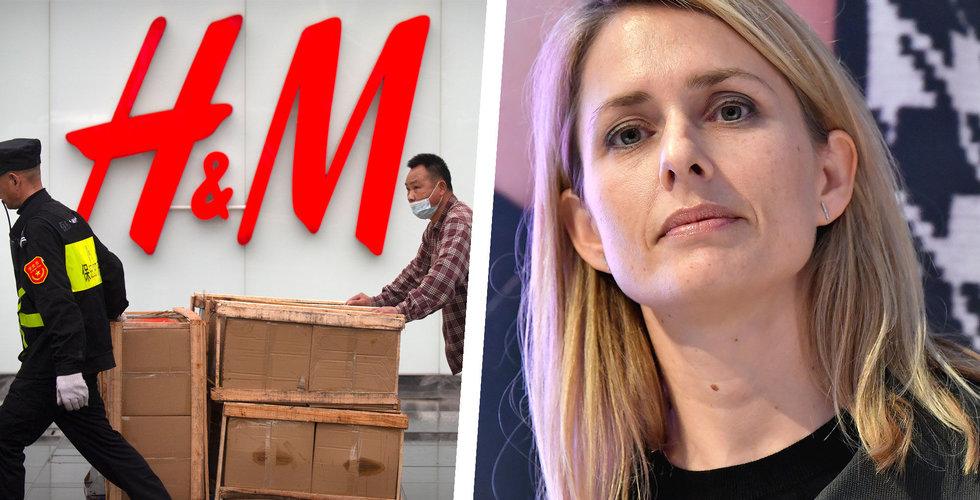 H&M planerar att skära ned i Spanien