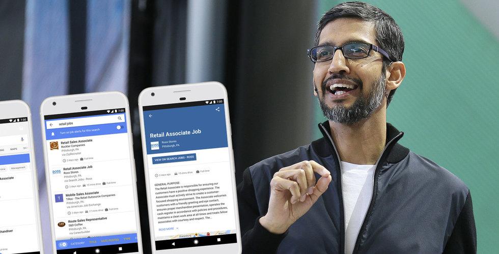 Breakit - Här är Googles nya sökoffensiv – ska hitta ditt nästa drömjobb