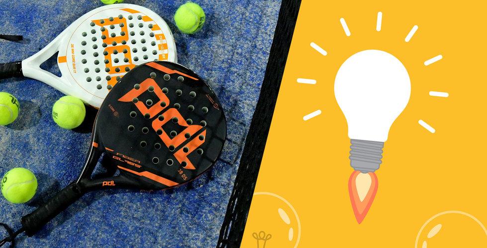 Tre meningar som förklarar varför padel är en bättre affärsidé än tennis