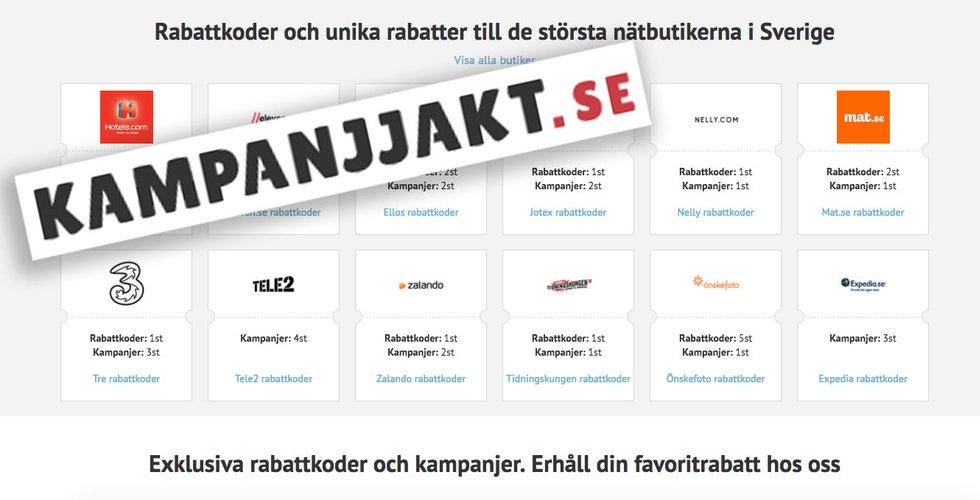 Breakit - Svensk kampanjsajt säljs för 15 miljoner kronor
