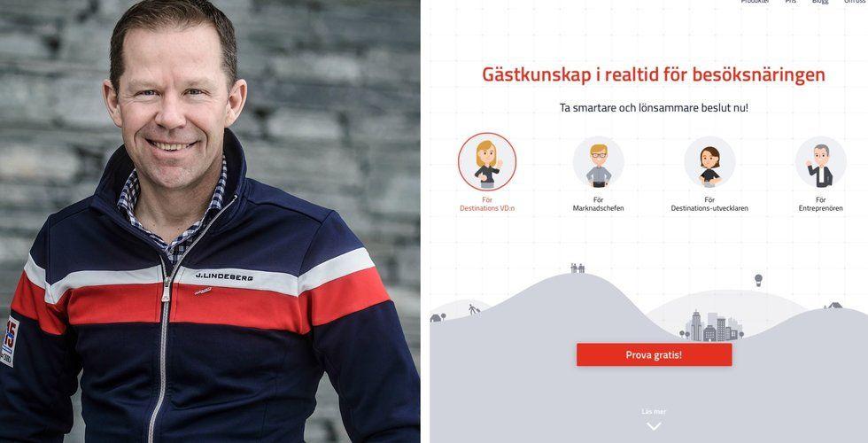 Svenske alpinstjärnan ska hjälpa företag att förstå turister