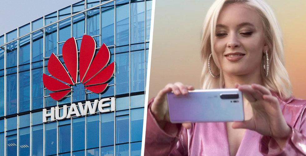 Osäker framtid för Huawei – Telia flaggar för problem