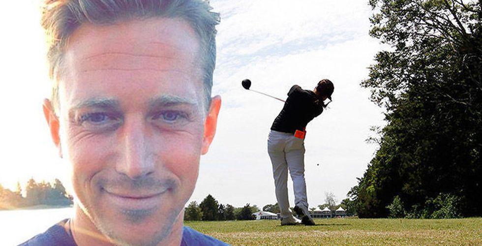 Slog Pärleros säljrekord – nu ska stjärnsäljaren bli golfentreprenör