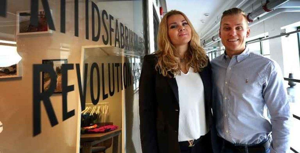 Breakit - Pernilla och Niclas Nyrensten startade i garaget – nu är deras e-handel värd över en halv miljard