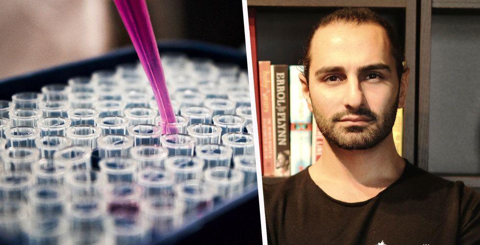 Ash Pournouris nya satsning – investerar i läkemedelsföretag