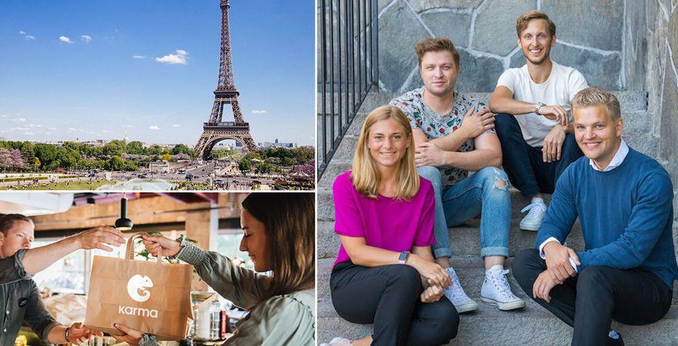 """Karma expanderar till Paris: """"Finns stor efterfrågan"""""""