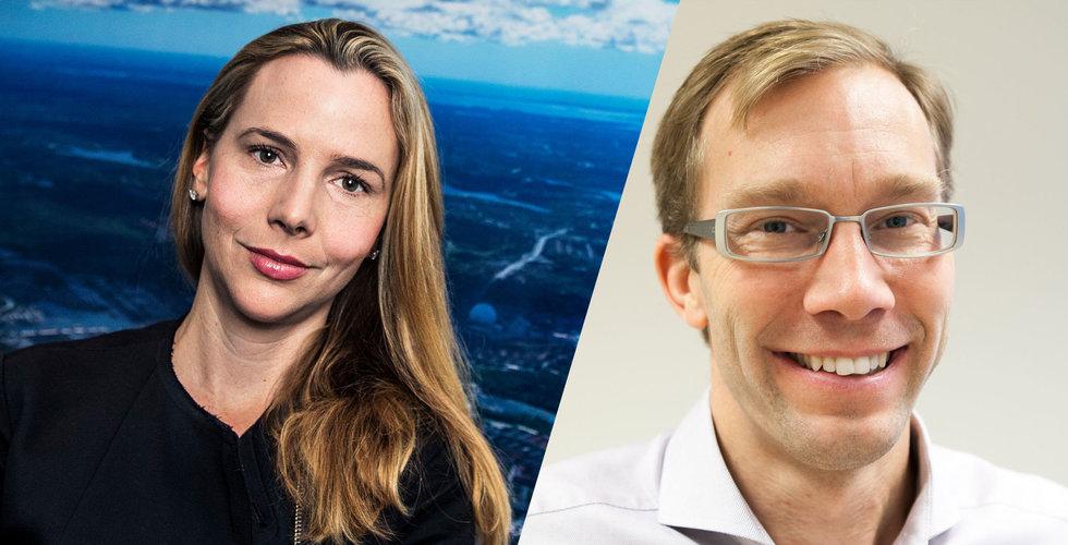 Sophie Stenbeck och Stefan Krook satsar på digital jämställdhet
