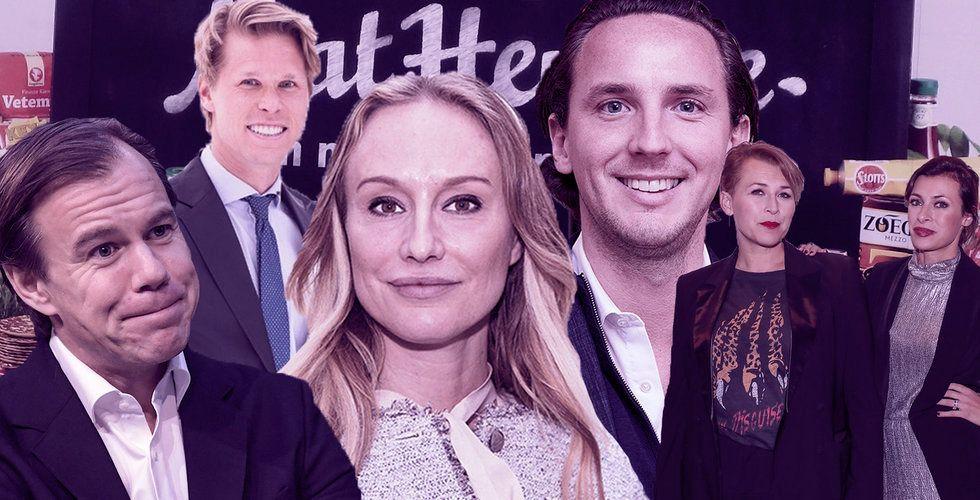 """""""Pappa betalar"""", Mathem-grundarens diss och Stena-arvingens okända startupsmäll"""