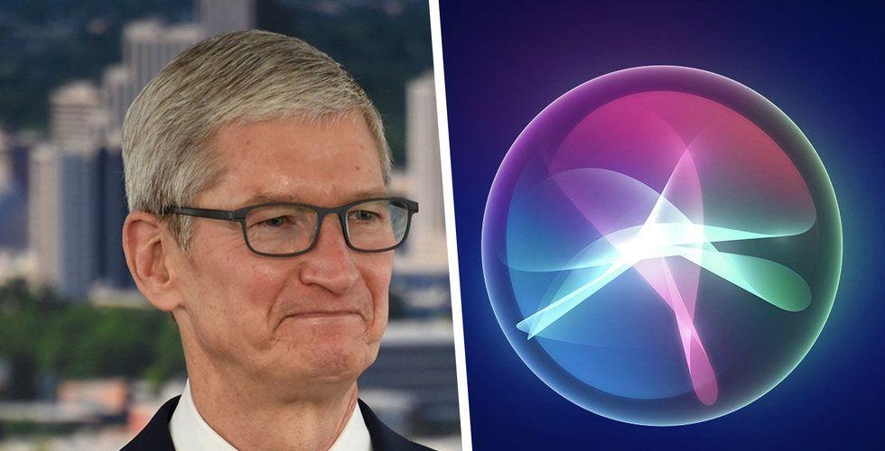 Apples-konsulter lyssnar på Siri-konversationer