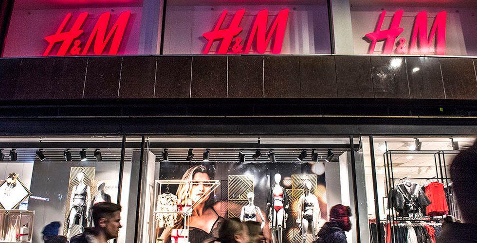 H&M ersätter personliga möten med teknik – inför självbetalningskassor