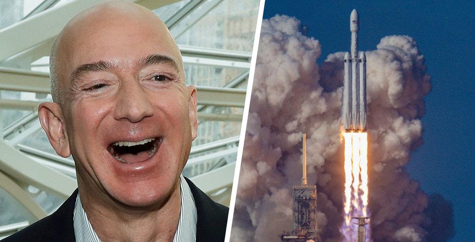 Jeff Bezos säljer Amazon-aktier för 1,8 miljarder dollar