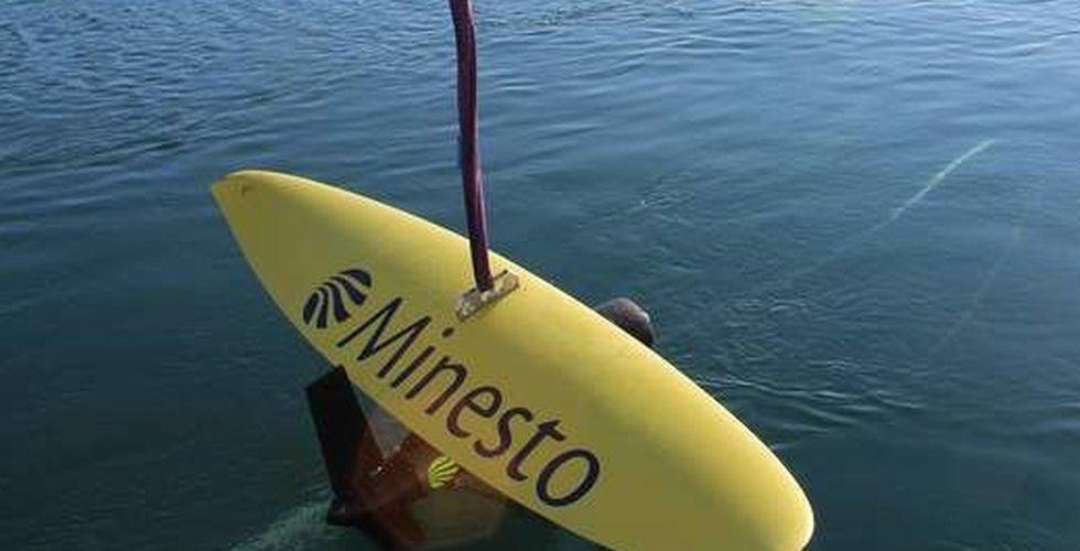 Stark börsstart för svenska undervattensdraken Minesto