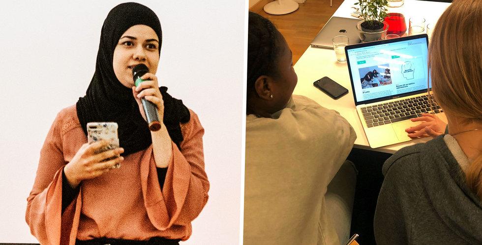 De fixade egen Shift-kväll i Fittja – unga fick hjälp med sin startup-idé