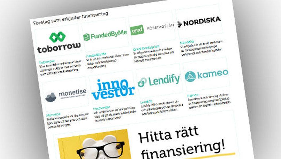 Startupallians ligger bakom Finansieringsportalen