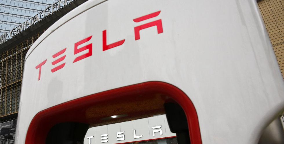 Tesla lyfter efter nya spekulationer