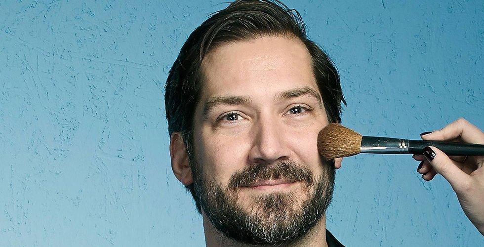 It-konsulten Michael Gegerfeldt blev skönhetskung på nätet med Eleven